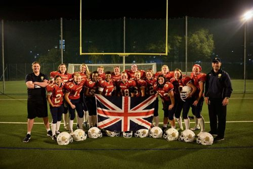 Hannah with the Birmingham Lions that made the GB squad in Sweden. Photo courtesy of Luke Plastow/Plastow Photography