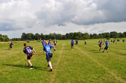 Hannah Pye hauled this one in for a touchdown against Aylesbury Vale Spartans, one of her 4 on the day!