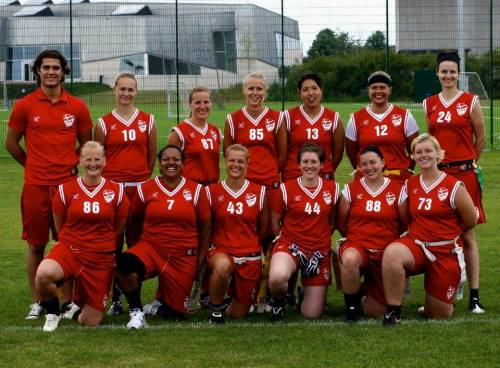 The women's national side in the 2012 Nordic Championship