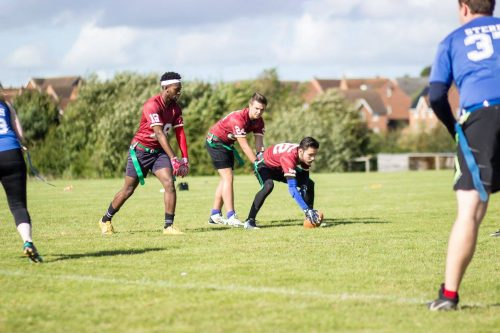 Northants Aztecs face Oceanus. Photo by Rob Connor